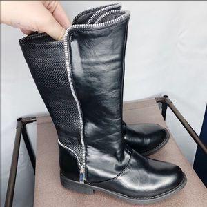 4399ac1fbc1 Kensie girl black zipper boots 3